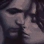 """Картины и панно ручной работы. Ярмарка Мастеров - ручная работа Вышитая картина """"Двое"""". Handmade."""