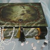 Для дома и интерьера handmade. Livemaster - original item the box is a big