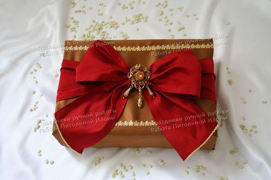 """Подарочная упаковка ручной работы. Ярмарка Мастеров - ручная работа. Купить """"Эпоха Барокко"""" - упаковка подарка. Handmade. Упаковка подарка"""