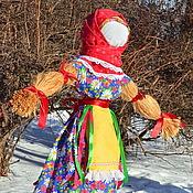Куклы и игрушки ручной работы. Ярмарка Мастеров - ручная работа Чучело на Масленицу. Handmade.