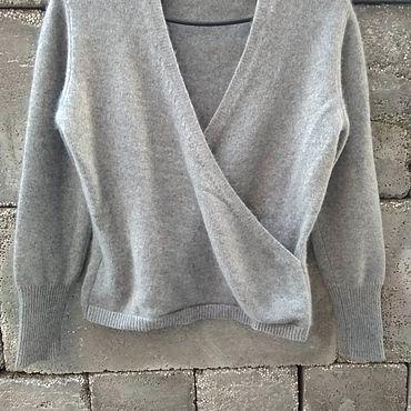Vintage. Livemaster - original item Vintage clothing: cashmere pullover, vintage Italy. Handmade.