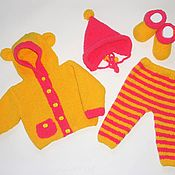 Работы для детей, handmade. Livemaster - original item Suit for newborn Bear. Handmade.