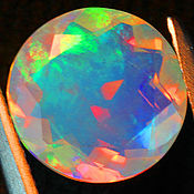 Материалы для творчества handmade. Livemaster - original item Opal Ethiopia 9 mm. 1,85 ct. Handmade.