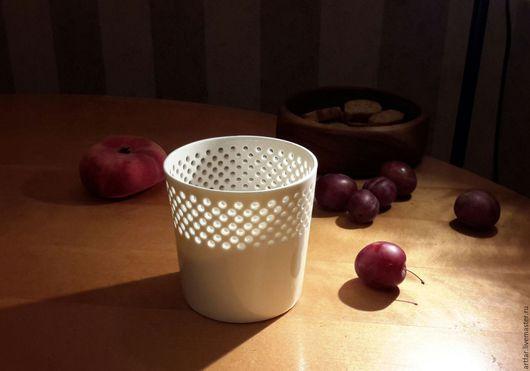 """Бокалы, стаканы ручной работы. Ярмарка Мастеров - ручная работа. Купить Стакан """"Вечер в Питере"""". Handmade. Белый, на День рождения"""