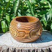 Посуда handmade. Livemaster - original item Wood Vase Bowl Candy dish Handmade Siberian Elm #V10. Handmade.