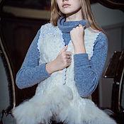 """Одежда ручной работы. Ярмарка Мастеров - ручная работа Жилет """" Фламинго"""". Handmade."""