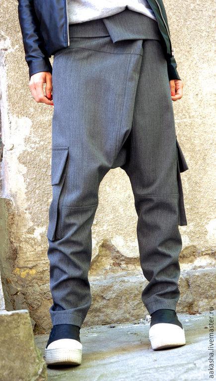 брюки черные брюк из шерсти широкие брюки шерстяные брюки стильные брюки свободные брюки с карманами штаны с карманами женские брюки из шерсти серые брюки