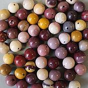 Материалы для творчества handmade. Livemaster - original item Jasper, mucahit 10 mm smooth beads (natural stone). Handmade.