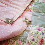 Для дома и интерьера ручной работы. Ярмарка Мастеров - ручная работа Одеяло лоскутное. Handmade.