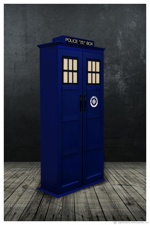Шкаф Тардис Doctor Who Tardis M, Шкафы, Москва,  Фото №1