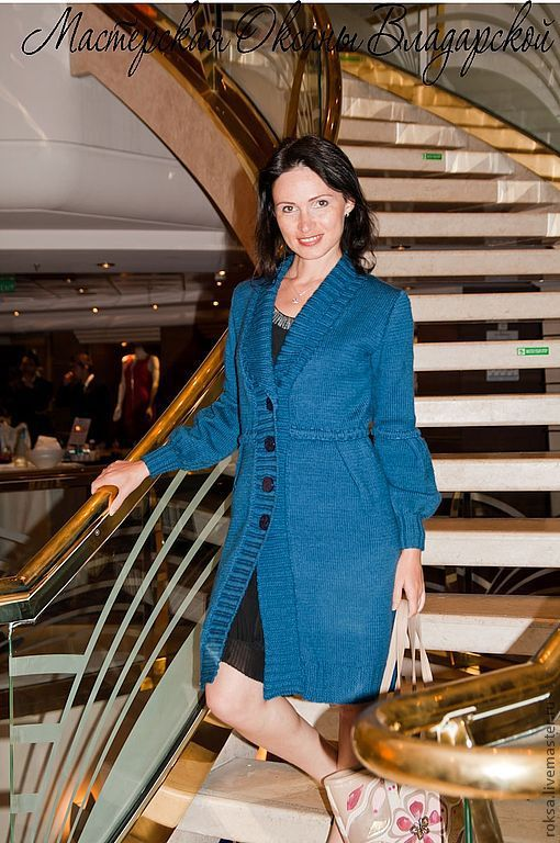 Knitted cardigan 'boat trip', Cardigans, St. Petersburg,  Фото №1