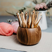 Материалы для творчества handmade. Livemaster - original item Knitting hooks (17#10. Handmade.