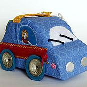 """Куклы и игрушки ручной работы. Ярмарка Мастеров - ручная работа Развивающая игрушка """"Машинка"""". Handmade."""