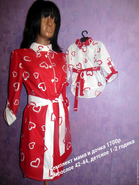 Платье из польского хлопка