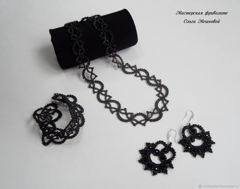 Black jewelry set, Jewelry Sets, Sayanogorsk,  Фото №1