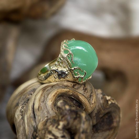 """Кольца ручной работы. Ярмарка Мастеров - ручная работа. Купить Кольцо """"Аликанте"""". Handmade. Кольцо, золото, ювелирное украшение"""