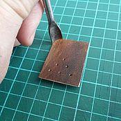 Инструменты для работы с кожей ручной работы. Ярмарка Мастеров - ручная работа Инструменты для работы с кожей: Угловой пробойник. Handmade.