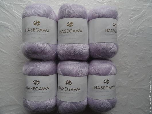 Вязание ручной работы. Ярмарка Мастеров - ручная работа. Купить Пряжа Hasegawa Seika № 29 Lilac. Handmade.