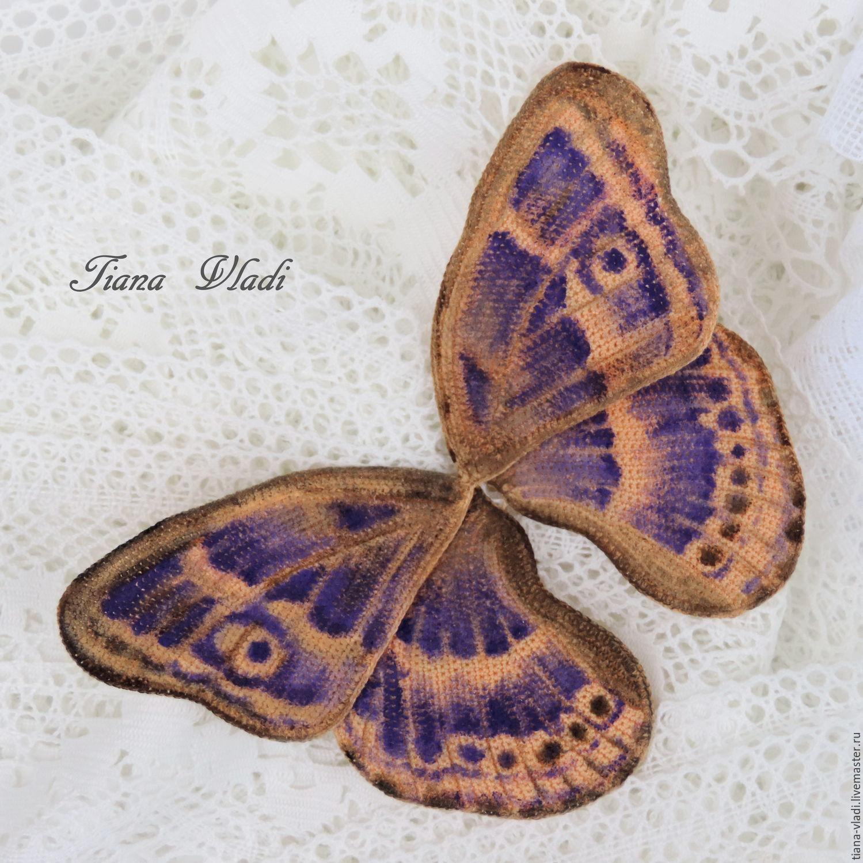Крылья бабочки крючком