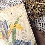 """Для дома и интерьера ручной работы. Ярмарка Мастеров - ручная работа Панно """"Ирисы"""". Handmade."""