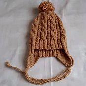 Работы для детей, ручной работы. Ярмарка Мастеров - ручная работа Детская шапка с помпоном. Handmade.