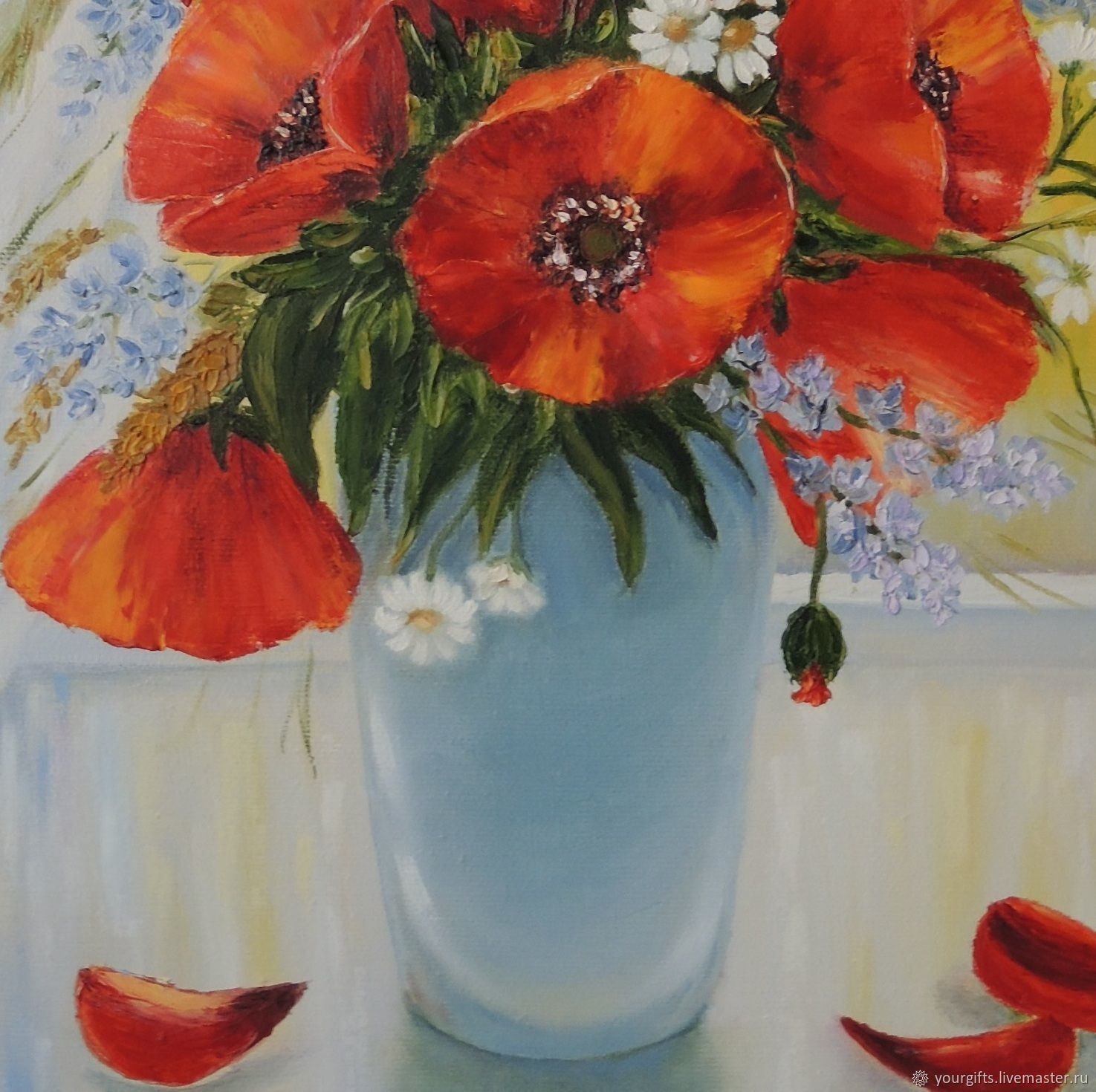Poppies near the window oil painting flowers in a vase shop poppies near the window oil painting flowers in a vase shop online on livemaster with shipping e98n1com reviewsmspy
