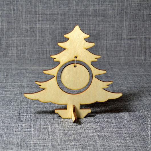 НГ-044. Елочка на подставке 2 - замечательное новогоднее украшение! Подойдет для декупажа и росписи, будет замечательно смотреться на новогоднем столе или станет отличным подарком!