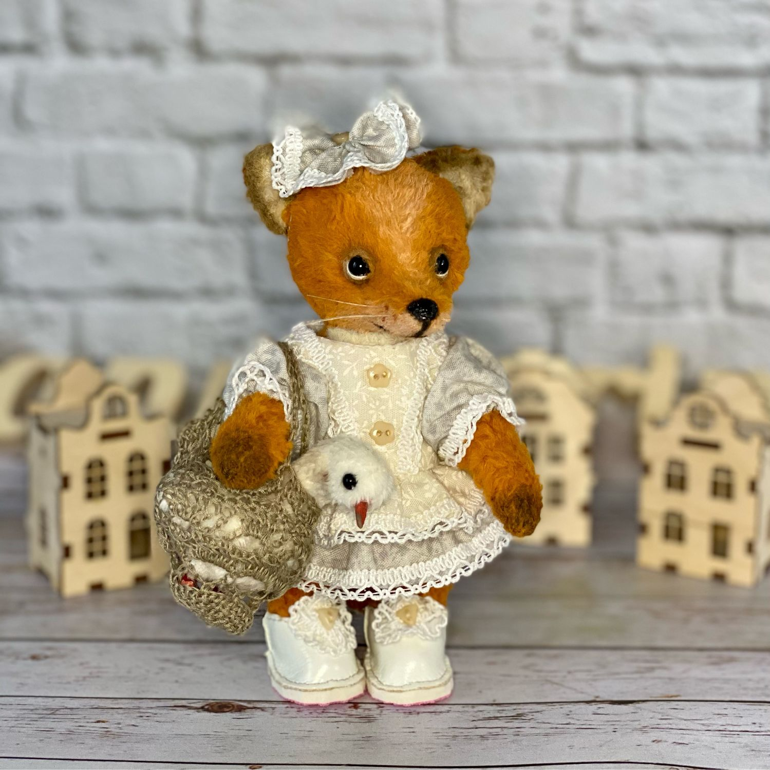 Chanterelle in a light dress, Teddy Toys, Moscow,  Фото №1