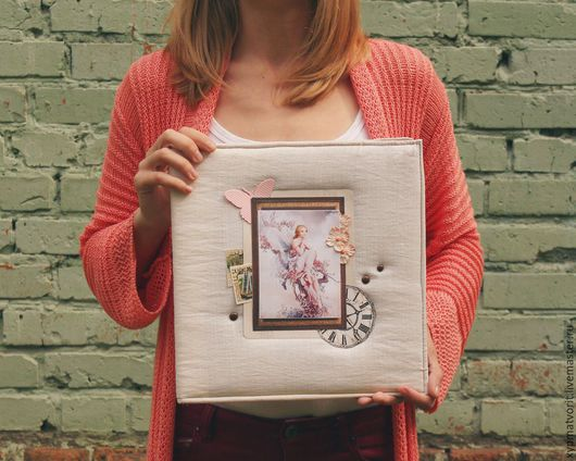 Фотоальбомы ручной работы. Ярмарка Мастеров - ручная работа. Купить Семейный фотоальбом. Handmade. Белый, альбом для фотографий, корона, розовый