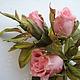 artificial rose flowers, handmade flowers brooch, silk flower rose, rose buds pink brooch rose pin, headband flowers, hair Hoop with flower, silk products, pink buds ro