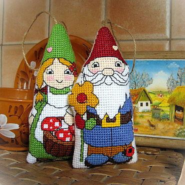 Dolls & toys handmade. Livemaster - original item Garden gnomes. Handmade.