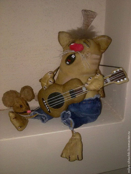 Куклы и игрушки ручной работы. Ярмарка Мастеров - ручная работа. Купить серенада. Handmade. Коричневый, улыбка, натуральный мех