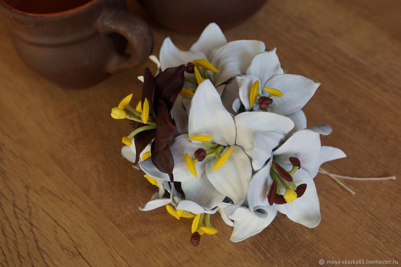 Unique Leather Flower Bouquet Mold - Images for wedding gown ideas ...