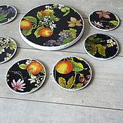 Для дома и интерьера handmade. Livemaster - original item Stands for hot Fruit. Handmade.