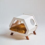 Хранение вещей ручной работы. Ярмарка Мастеров - ручная работа Домик, тумба, лежанкаRetro Loft White&Horse. Handmade.