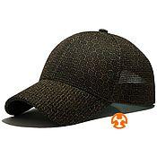 Аксессуары handmade. Livemaster - original item Summer baseball cap with Sota Bee Gold Print. Handmade.