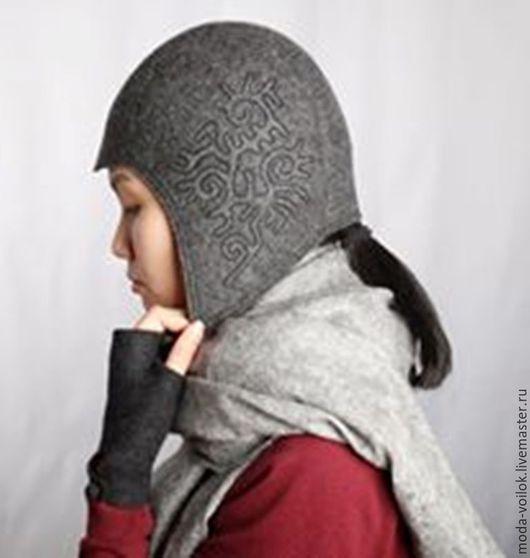 Шапки ручной работы. Ярмарка Мастеров - ручная работа. Купить Шапка шлем. Handmade. Шапка, шапка для женщин, шапка для зимы