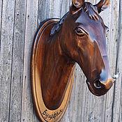 Для дома и интерьера ручной работы. Ярмарка Мастеров - ручная работа Голова лошади из дерева. Handmade.