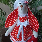 Куклы и игрушки ручной работы. Ярмарка Мастеров - ручная работа Тильда заяц. Handmade.