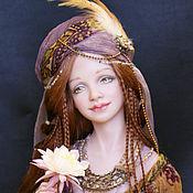 Куклы и игрушки ручной работы. Ярмарка Мастеров - ручная работа Айгуль - Лунный цветок (продана). Handmade.