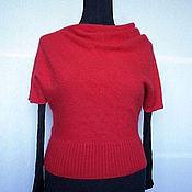 Одежда handmade. Livemaster - original item Blouse angori oblique cut. Handmade.