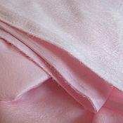 Материалы для творчества ручной работы. Ярмарка Мастеров - ручная работа Плюш Минки светло-розовый. Handmade.