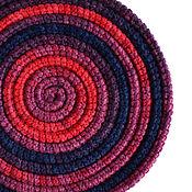 Аксессуары ручной работы. Ярмарка Мастеров - ручная работа Украшение на шею Lasso Blossom вязаное колье шарф бусы. Handmade.