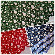 Аксессуары handmade. Livemaster - original item Colorful shawls without fringe. Handmade.