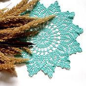 Для дома и интерьера handmade. Livemaster - original item Lace doily crochet No. №41. Handmade.