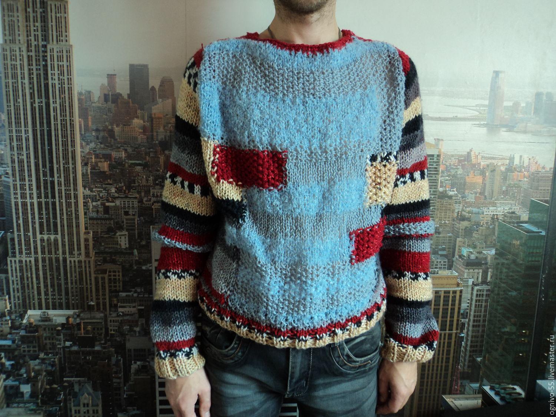 Men's cardigan ' Disco club', Mens jumpers, Astrakhan,  Фото №1