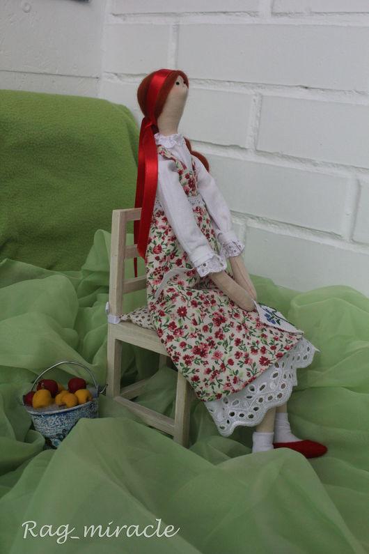 Куклы Тильды ручной работы. Ярмарка Мастеров - ручная работа. Купить Кукла ручной работы в стиле Тильда. Handmade. вышивка
