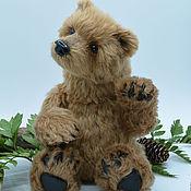 """Куклы и игрушки ручной работы. Ярмарка Мастеров - ручная работа """"Balu"""" (бурый медведь в стиле натюр).. Handmade."""