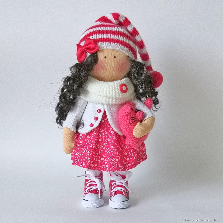 Текстильная кукла тыквоголовка, Тыквоголовка, Москва,  Фото №1