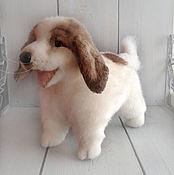 Подарки к праздникам handmade. Livemaster - original item Pyrenee puppy Potty (nature). Handmade.